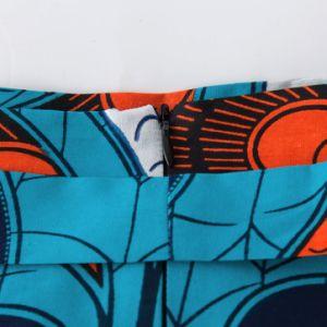Venda por grosso de 2018 última Design personalizado Impressão Africana Saias Longas