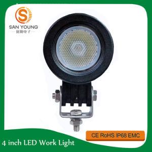 Lumière 10W de travail du CREE DEL de 2 pouces pour des véhicules de phare de motos