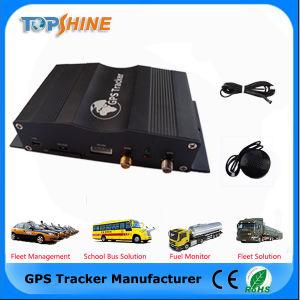 5 Cartão SIM GPS Car Tracker com sensor de combustível da câmara