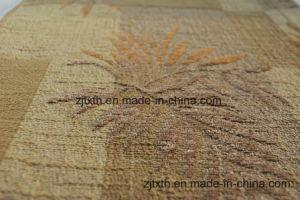 Patrón de hojas de Jacquard de chenilla tejido sofá (Fürth31130)