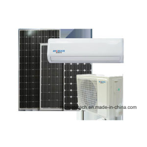 9000BTU de Macht van gelijkstroom produceerde volledig de ZonneAirconditioner van het op-net Acdc