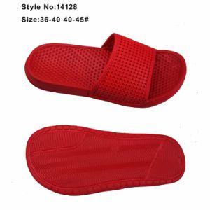 Les femmes EVA Holey Open Toe pantoufle rouge