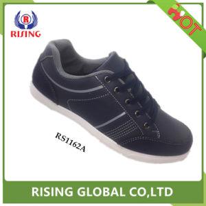 2018 НОВЫХ PU кожаную обувь мужская дышащий повседневная обувь
