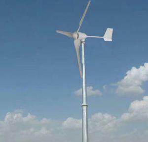 300W 12/24 volts residencial pequena turbina eólica (SHJ-300M)