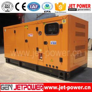 Небольшой мощности 25 ква бесшумный портативный генератор топлива Cummins