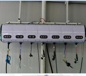 La combinación libre Drum Alquiler de equipos de servicio para el carrete de manguera