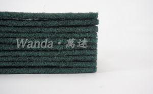 Средства для очистки Non-Abrasive темно зеленый губки с абразивным покрытием
