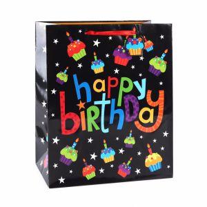 День рождения свеча ремесла одежду обувь сувенирные подарочные бумажные пакеты