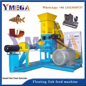 Nouvelle condition automatique de l'alimentation animale Les Aliments pour poissons machine à granulés flottants