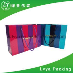 Custom ламинированной бумаги многоразовый магазинов ткани пакет с логотипом