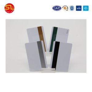 Scheda magnetica bianca per il pagamento