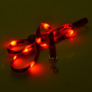 La impresión de hueso LED de 2 cm perro Gato como mascota Correa LED intermitente de la correa del resplandor de seguridad de la iluminación de buena calidad no es el más barato un perro de correa