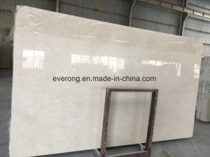 Un grado de calidad para losa de mármol Crema Marfil pulido de piso de mosaico, en la pared de la Encimera &