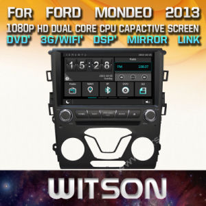 Tela de Toque do Windows Witson aluguer de DVD para Ford Mondeo 2013