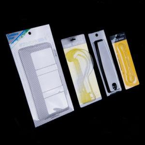 El calor transparente embalaje blister sellado con tarjeta de papel de impresión
