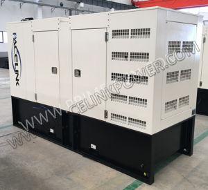 100kVA 경제 세륨 ISO를 가진 Cummis에 의하여 강화되는 방음 디젤 엔진 발전기 세트