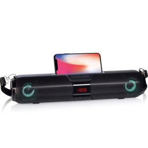2019 Melhor Qualidade Despertador Soundbar multifuncional de alto-falante Bluetooth X22s levou tempo de suporte