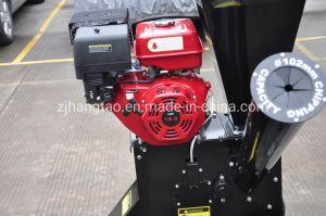 Certificado pela TUV 102mm de tamanho de cavacos a gasolina 15HP Chipper Shredder