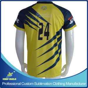 축구 t-셔츠를 위한 주문 승화 축구 의류