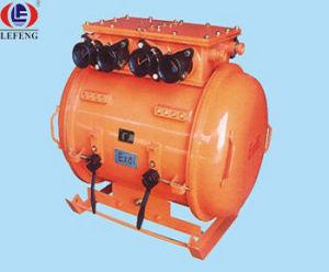Dispositivo d'avviamento elettromagnetico di vuoto duplicato ignifugo dell'alimentazione elettrica per ventilazione della miniera (QBZ-2*80F)