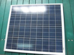 Kleiner Sonnenkollektor 60W Poly