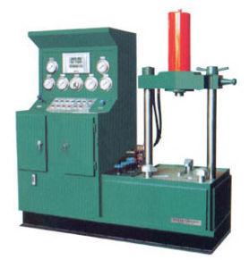 YD-Bのタイプ縦油圧弁の試験台