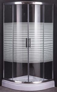 セクターの皿との絵画Horizonalの縞のシャワー機構