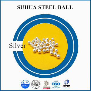 El carbono, inoxidable, cromo Bola de Acero Recubierto de plata bola