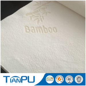 St Tp012 40%Bamboo 60%Poly 매트리스에 의하여 뜨개질을 하는 직물