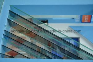 Guichet en verre en aluminium de glissement de bâti, guichet de glissement en aluminium intérieur, profil en aluminium Windows coulissant