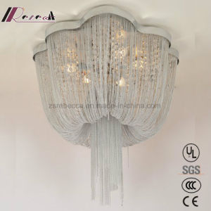 Lampada moderna del soffitto del ferro della catena di eleganza per l'hotel