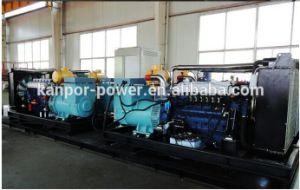 Erdgas-autorisierte Dieselgenerator-Set, das Biogas, das Set, von 24kw-2400kw angeschalten wurde durch Cummins/Weichai/Deutz, deutsche Tesla Energie festlegt, Mfr Kanpor