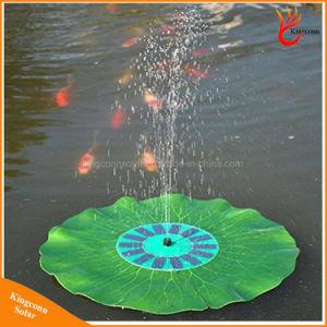 太陽水ポンプの園芸植物の太陽エネルギーの噴水のプールライト