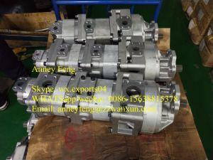 Verdadeiro Japão Komatsu 705-58 705-58-45000 Bomba-45010 aplicar para o carregador Wa800-3 Wa900-3 Bomba de engrenagem hidráulica