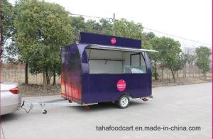 販売のためのカスタマイズされた作られたステンレス鋼の通りの食糧トレーラー