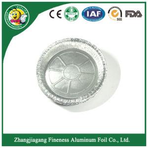 Plaque en aluminium pour la pizza de l'emballage