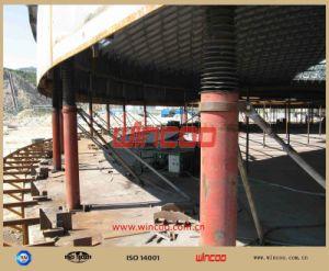 Système élévateur hydraulique/ machinerie de construction du réservoir de haut en bas