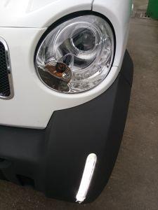4WD Electric RECOGEDOR CON LÁMPARA DE LED Micro carretilla
