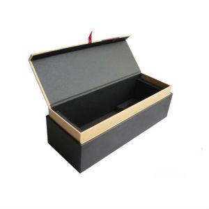 새로운 디자인 마분지 실린더 단 하나 병 포도주 상자