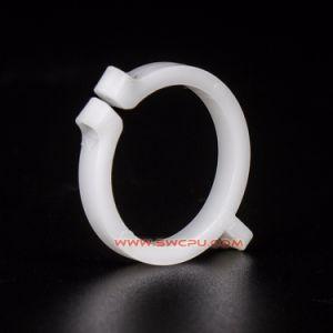 Los racores de soporte de tubo de OEM en forma de U Plástico de PVC Abrazadera doble / C Clip forma