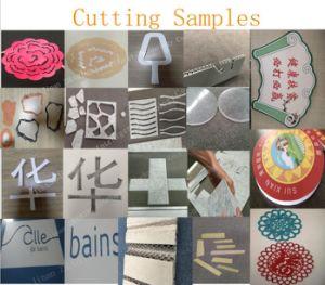 3D Carta Publicidade máquina de corte CNC Publicidade Plotter Cutting com marcação ISO