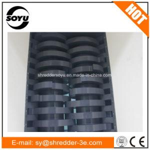 Двойной вал измельчитель для пластиковой шины и резиновые и металлические/отходов/двойной вал подавляющие