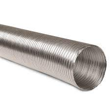 3x8 pouce Semi-Rigid gaine souple en aluminium