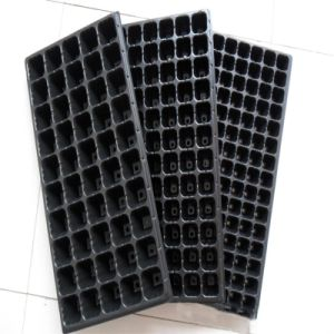 Bandeja de semeadura de plástico para Plantadeira com efeito de estufa