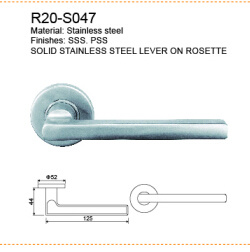 201/304 la empuñadura de puerta de acero inoxidable cerradura de puerta /