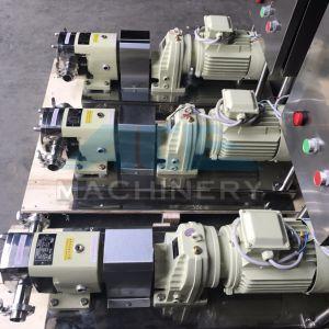 스테인리스 호퍼를 가진 회전하는 로브 펌프 이동 고기 풀