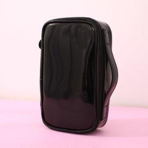 Voyage de maquillage en cuir Produits de toilette sacs en PVC de mode de promotion cosmétique