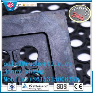 卸し売りゴム製安全マットの反疲労の台所フロアーリングの排水の穴のマット