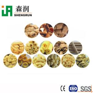 Strangpresßling-luftstoßende Imbiss-Nahrung, die Maschinen-Extruder-Pflanzenproduktionszweig bildet