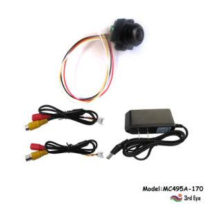 170 grados Angular Mini cámaras de seguridad (520 líneas de TV HD, 0,008 lux la visión nocturna)